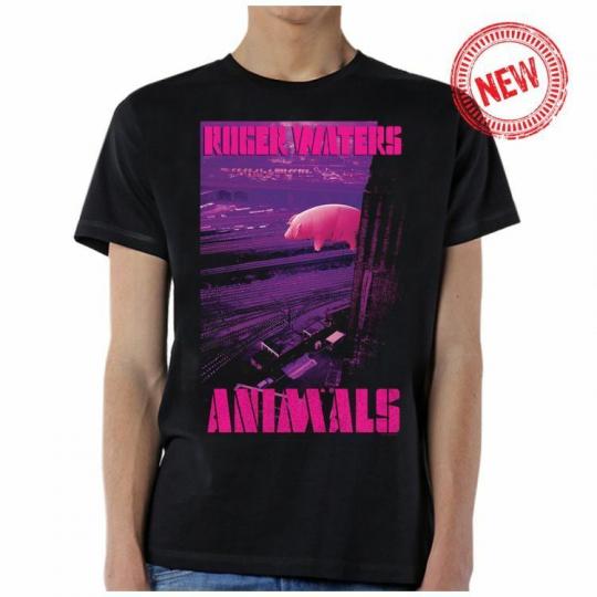 Roger Waters Animals Logo Pig Music Rock Band Adult Mens T Tee Shirt ROG10027