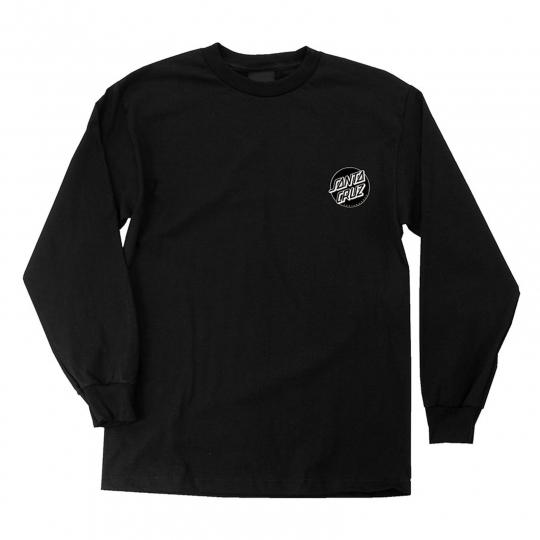SANTA CRUZ T-SHIRT CONJURER L/S BLACK