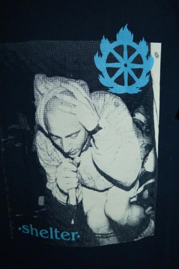 SHELTER Quest For Certainty 1992 Hardcore Band VINTAGE OG T-Shirt Mens XL Rev