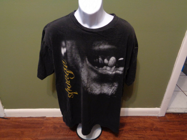 SPONGE 90s TOUR  rock band VINNIE DOMBROWSKI WAX ECSTATIC  T SHIRT XL 1996