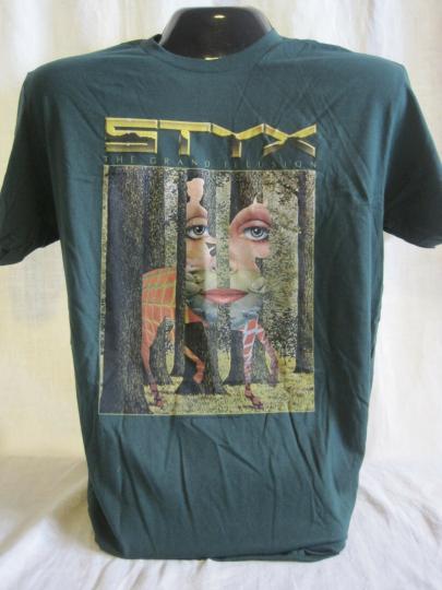 STYX T-Shirt Tee Rock Music Band Chicago Panozzo New 01