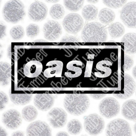 Oasis Logo Band Logo SVG / DXF / PNG  **Instant Digital Download