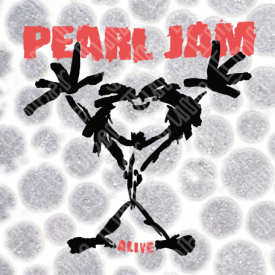 Pearl Jam Alive Stick Man Logo Band Logo SVG / DXF / PNG  **Instant Digital Download