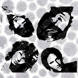 The Doors Band Heads Files SVG / DXF / PNG  **Instant Digital Download