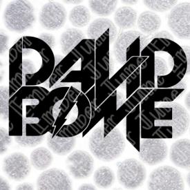 David Bowie Lightning Bolt Logo File SVG / DXF / PNG  **Instant Digital Download