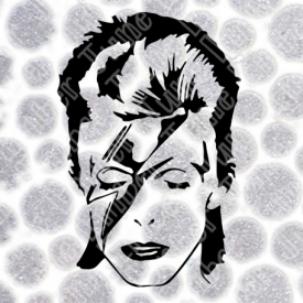 David Bowie Ziggy Stardust Face SVG / DXF / PNG  **Instant Digital Download
