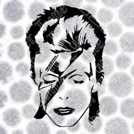 David Bowie Ziggy Stardust Face SVG / DXF / PNG  **Instant Digital Download
