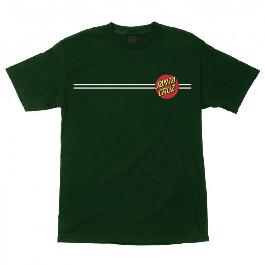 Santa Cruz Classic Dot (Forest Green) T-Shirt