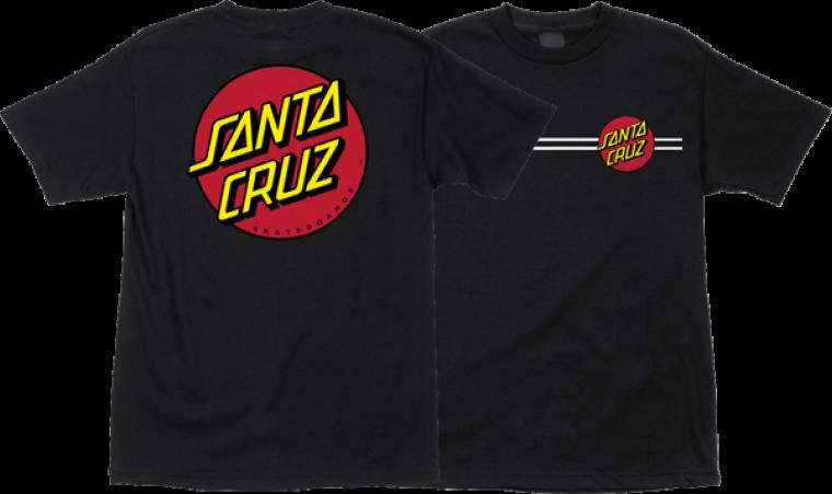 Santa Cruz Classic Dot T-shirt - Brand New / NWT