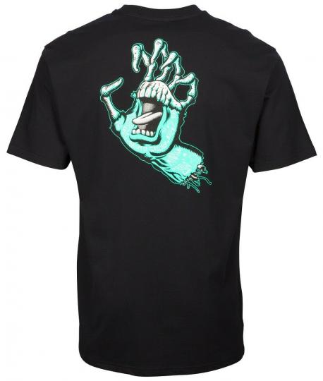 Santa Cruz S18 Tattoo Hybrid Hand  Bk Print T-Shirt Black    £16.99   S M XL