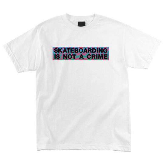 Santa Cruz Skateboard Shirt Ultra Crime White