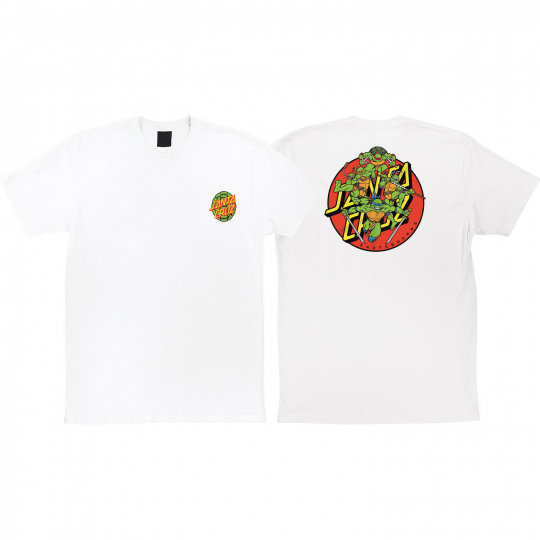 Santa Cruz Skateboards TMNT Turtle Power Men's Short Sleeve T-Shirt - Small