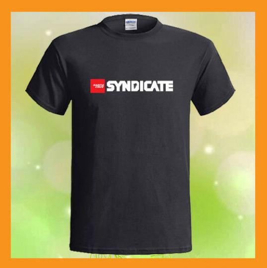 Santa Cruz Syndicate Logo Downhill Racing Team Black T-Shirt S M L XL 2XL 3XL
