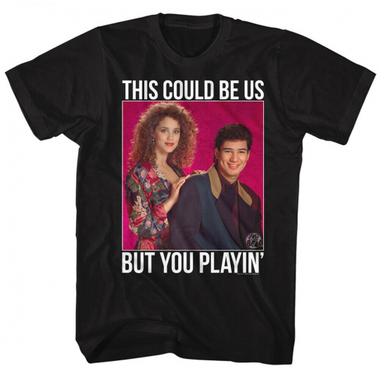 Saved By The Bell 80s Comedy Sitcom This Could Be US Jessie Salter Adult T-Shirt