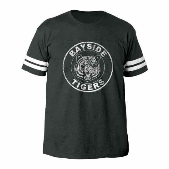 Saved by the Bell Bayside Tigers Vintage Football T-Shirt