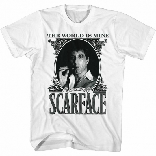 Scarface Dollarface White T-Shirt