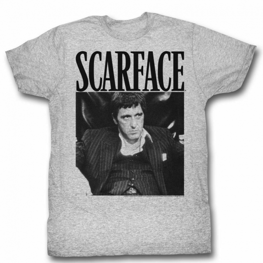 Scarface Gangsta Gray Heather T-Shirt