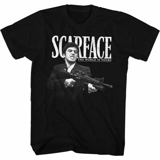 Scarface Scarface Classic Black T-Shirt