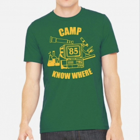 Stranger Things Shirt x Levi's Unisex T-Shirt Camp Know Where Non-Ringer T-shirt