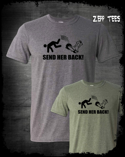 Send Her Back T Shirt Trump Rally Lunatic Left Squad Offensive Love It Or Leave