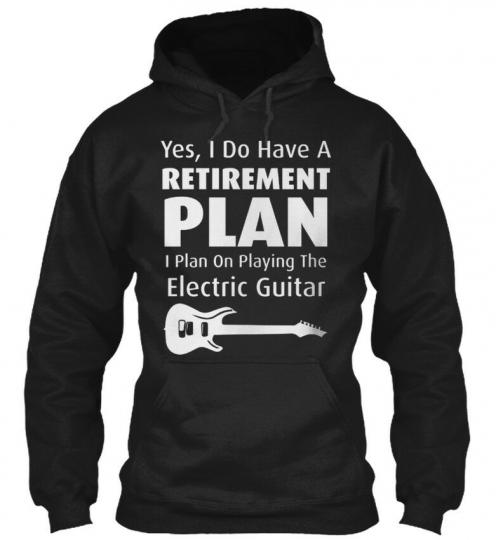 Sensational Guitarist Rock Music Guitar - Yes I Do Have Gildan Hoodie Sweatshirt