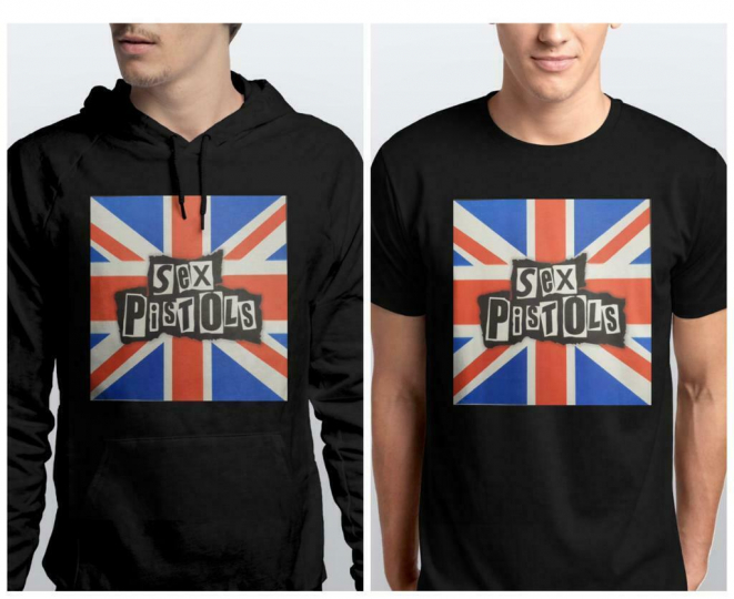 Sex Pistols Punk Rock Band T-shirt Adult NEW Unisex HOODIE TEE PULLOVER XS-3XL