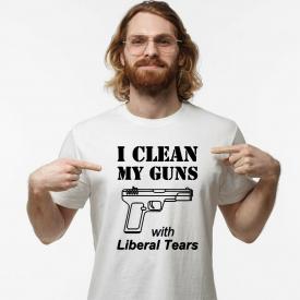 Shirt I Clean Gun Guns T Rights Funny Amendment 2nd Mens If Kill People 2a Ar15