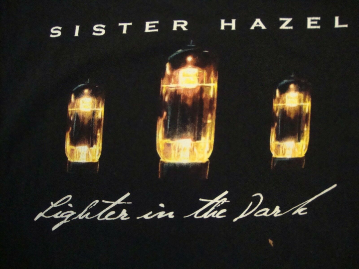 Sister Hazel Light Is In The Dark Alternative Rock Band Tour T Shirt Size XL
