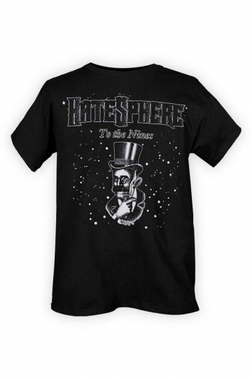 Size Small Brutal Death Metal HateSphere To The Nines album T-Shirt Size S New