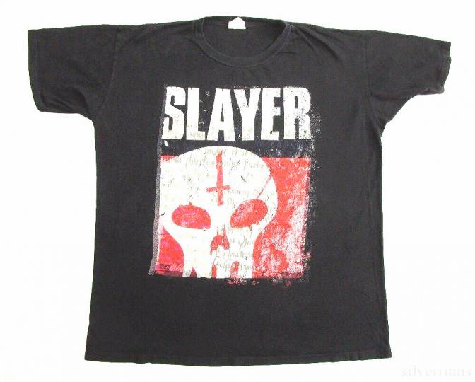 Slayer Vintage T Shirt 1996 Undisputed Attitude Tour Concert Thrash Metal Skull