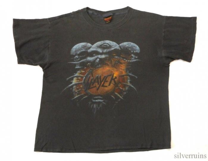 Slayer Vintage T Shirt 90's 1994 Tour Concert Death Loves Final Embrace Thrash