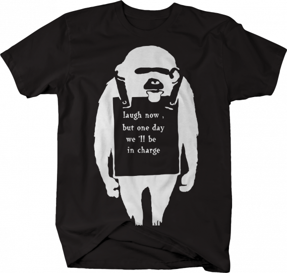 Sloth - Laugh Now One Day in Charge Funny  Tshirt