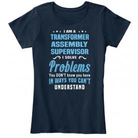 Soft Transformer Assembly Supervisor – I Am A Women's Premium Tee T-Shirt