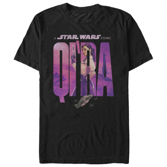 Solo: A Star Wars Story Qi'ra Name Movie Poster Mens Graphic T Shirt