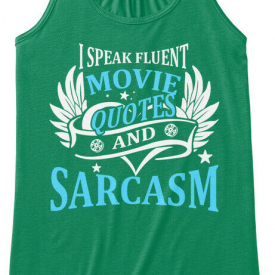 Speak Movie Quotes St Patricks Day Bella Flowy Tank Tanktop