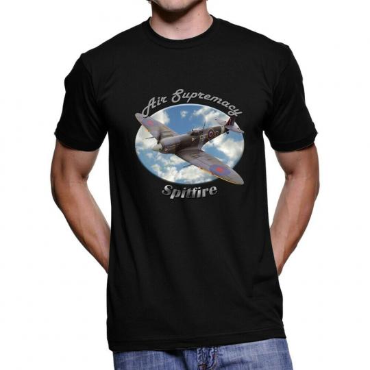 Spitfire Air Supremacy Men`s Dark T-Shirt
