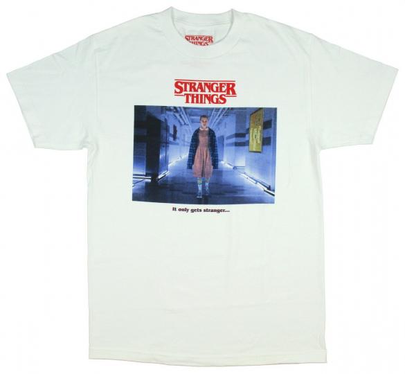 Stranger Things Men's Eleven It Only Gets Stranger T-Shirt