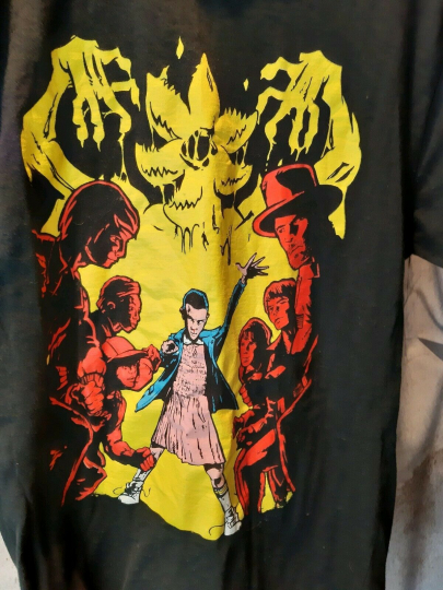 Stranger Things TShirt Official netflix Shirt Featuring Eleven and Cast Medium