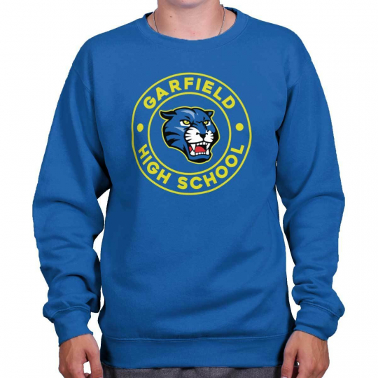 Superhero Nerd Garfield High School Spirit TV Show Gift Pullover Sweatshirt