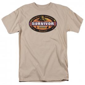 Survivor TV Show PANAMA Logo Licensed Adult T-Shirt All Sizes