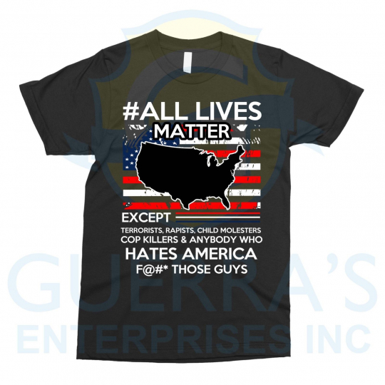 T-Shirt Exceptions Life Matters Tee T Shirt Funny Cool Gift Present Friend