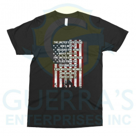 T-Shirt Wore Down American Flag Veterans Cool Special Gift United States