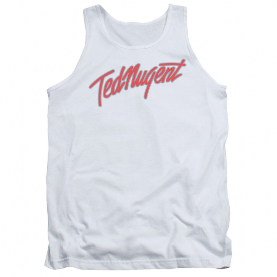 TED NUGENT CLEAN LOGO Licensed Men's Graphic Tank Top Sleeveless Band Tee SM-2XL