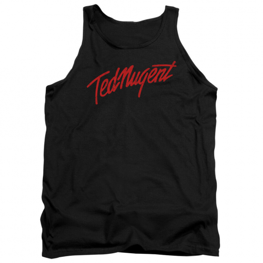 TED NUGENT DISTRESS LOGO Licensed Men's Band Tank Top Sleeveless Tee SM-2XL