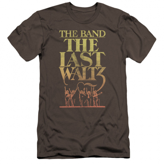 THE BAND THE LAST WALTZ Licensed Adult Men's Graphic Tee Shirt SM-5XL