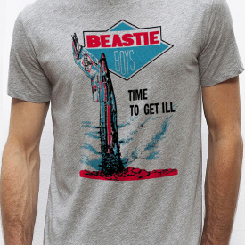 "THE BEASTIE BOYS ""Licence To Ill"" T-shirt  S-M-L-XL-2XL"