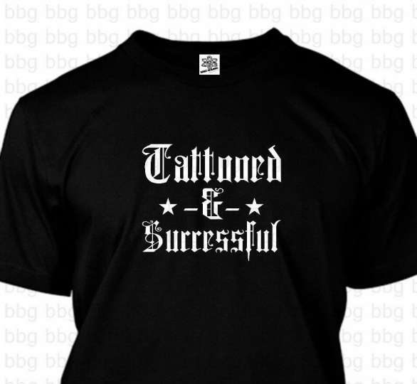 Tattooed Entrepreneur T-Shirt Business Owner Shop Manager Operator Dad Gift