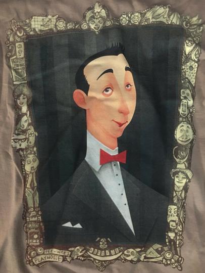 Teefury Galley Pee Wee Herman Playhouse Limited Run Shirt Size S