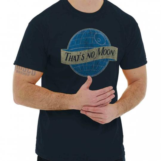 Thats No Blue Moon Space Wars Movie Nerd Short Sleeve T-Shirt Tees Tshirts