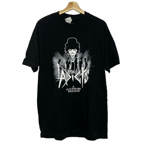 The Adicts A Clockwork Religion Vintage T-shirt 80's Punk Rock Band Tee